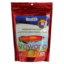 NORTHFIN AROWANA FORMULA FISH FOOD 250 GM. BAG 3 mm STICKS FREE SHIPPING
