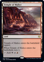 Temple of Malice x4 Magic the Gathering 4x Theros Beyond Death mtg card lot