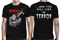 Necrophagia Anchor Terror Shirt S M L XL XXL Official T-Shirt Death Metal Tshirt