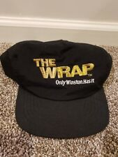 Vintage The Wrap Winston Cigarettes Snapback Hat Cap Old School Smoking Smoke