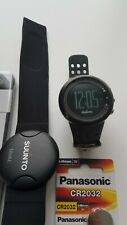 Suunto M5 Black with new batteries and accessories