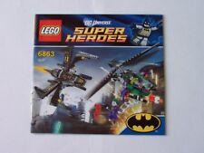 LEGO® Bauanleitung / Instruction Nr. 6863