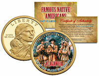 SACAGAWEA *Famous Native Americans* Dollar US Coin LEWIS CLARK EXPEDITION Indian