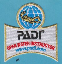 PADI OPEN WATER INSTRUCTOR SCUBA DIVE PATCH
