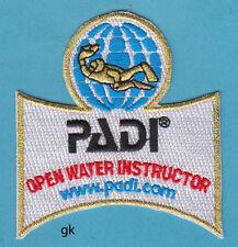 PADI OPEN WATER INSTRUCTOR SCUBA DIVE PATCH