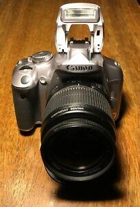 Canon EOS Rebel XSi 12.2MP Digital Camera Kit w/ 18-55mm IS Lens - Gray