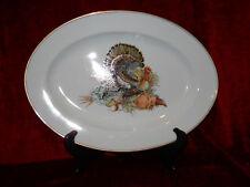 "Fitz & Floyd Harvest serving platter 14 1/2"""