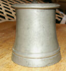 Rare! Pre Prohibition Waukesha Old Ale Pewter & Glass Tankard Wisconsin WI