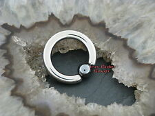 Titan piercing pelota closure anillo intimpiercing pecho tabique Helix labio 2,0mm