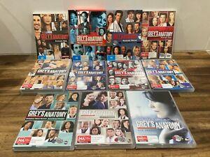 Greys Anatomy DVD Box Set Season 1-11 (1,2,3,4,5,6,7,8,9,10,11) - 65 Discs total