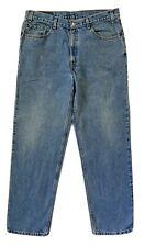 Vtg 90s Levis 505 Relaxed Fit Straight Leg Blue Denim Jeans Mens Sz 38x32 VGUC
