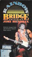 Rainbow Bridge Jimi Hendrix (VHS) OOP Music Film Rhino Home Video 74 min. 1972