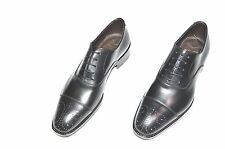 New  MAX VERRE Dress Leather Luxury Shoes Size Eu 41.5 Uk 7.5 Us 8.5 (Cod 151)