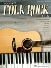 Today's Folk Rock Hits Sheet Music Piano Vocal Guitar SongBook NEW 000130448