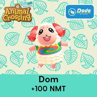 Animal Crossing New Horizons DOM VILLAGER