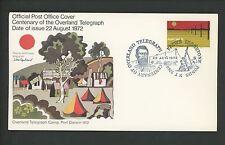 Postal History Australia FDC #526 Telegraph Camp Port Darwin Pictorical 1972