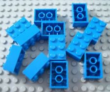 New LEGO Lot of 12 Blue 2x3 Building Brick Pieces from 749 6177