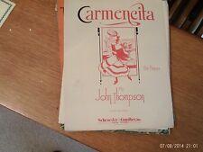 John Thompson: Carmencita, piano solo (Schroeder and Gunther)
