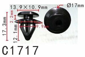 20pcs Fit Subaru 909130109 Lower Exterior Trim moulding Clip Outback Legacy