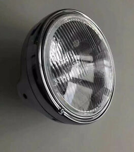 Custom Cruiser Scheinwerfer Headlight2 Universell Jute9811 universell  Chrom NEU