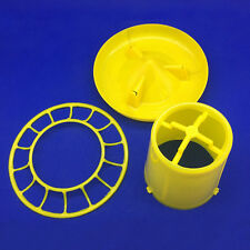 1kg Useful Farming Tools Chicken feed bucket Poultry Chick Feeders Bird XC