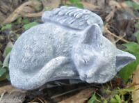 Angel cat latex only mold plaster mold rapid set cement all mould