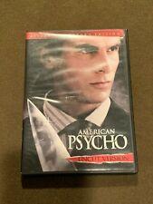 American Psycho Uncut Version Movie Dvd Killer Collector's Edition