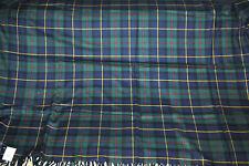 Ralph Lauren BRYANSTON COURT Tartan Plaid Devonshire Duke Wool Throw Blanket