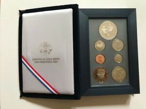 Commemorative Coins - World Cup USA 1994 - Prestige Set Coins