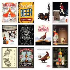 Alcohol Retro Metal Signs/Plaques Man Cave, Cool Novelty Gift, Bar/ Pub 20