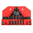 58 Pc Pro-Series 7/16' T-Slot Clamping Kit Bridgeport Mill Set Up Set 3/8-16