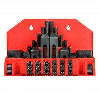 "58 Pc Pro-Series 7/16"" T-Slot Clamping Kit Bridgeport Mill Set Up Set 3/8-16"
