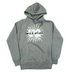 U2 Songs of Innocence Logo Pullover Hoodie Sweatshirt - Gray - S