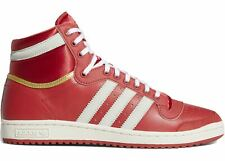 Men's Adidas Originals Top Ten Hi Glory Red/Gold Metallic/Cloud White EF6368