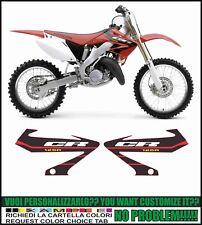 kit adesivi stickers compatibili cr 125 r 2004