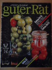 Good advice 3/1985 DDR Journal Green Tomato-Recipes Baby Bed Finishes Laundry