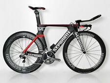 CARBON TRI TRIATHLON TIME TRIAL BIKE BICYCLE ULTEGRA DI2 6870 11 SPEED TT MEDIUM