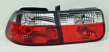 Red Clear Rear Altezza Tail Lights PAIR RH LH for Honda Civic 96-00 2dr Coupe