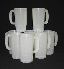 8 Beer Mugs-Steins Holds 22 Ounces Frosted Color Made in America Lead Free*
