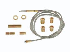 Flex-Thermoelement für Grill, Herd, Friteuse, Länge 900mm, inkl.7 Adapter
