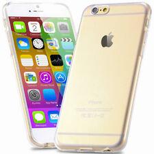 Für Apple iPhone 6 6S (4.7) Hülle Schutzhülle Bumper KLAR Transparent TPU Case