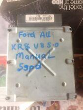 ford au xr8 v8 5speed manual computer 2000  model  tickford