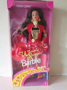 Barbie Doll TARA LYNN WESTERN STAMPING 1993 NRFB