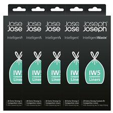 Joseph Joseph IW5 Intelligent Waste Bin Liners– 100 Bags– 20 Litres