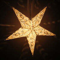 Decorative Paper Star Light Christmas Festive Party Hanging Lantern Stars Lamp