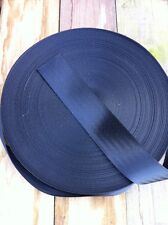 Sailing Dinghy Toe Strap Webbing Black Sold By The Metre