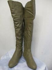 """NEW WOMEN'S """"SHOES OF SOUL"""" KNEE HIGH FASHION BOOTS  TAUPE SIZE: 8 M"""