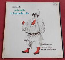 STRAVISKY LP ORIG FR FALP 743 PULCINELLA  LE BAISER DE LA FEE ART COVER PICASSO