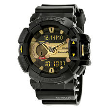 Casio G-Shock G'Mix Black Dial Black Resin Multi Quartz Mens Watch GBA400-1A9CR