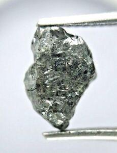 Rough Diamond 2.23TCW Gray Sparkling Natural Irregular Shape for Valentine Gift